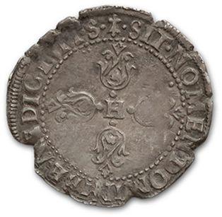 Quart de franc. 1601. Toulouse. D. 1213A. TTB.