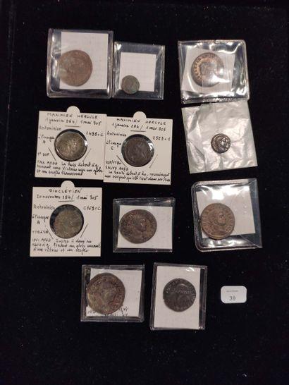 Antoninian: 7 copies. Probus (3 copies) C. 365, 437 and 493 - Carin C. 37 - Diocletian...