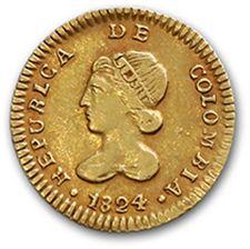 République de Colombie (1821-1837) Escudo...