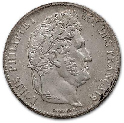 LOUIS PHILIPPE (1830-1848) 5 francs tête...