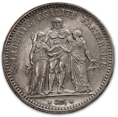 DEUXIÈME RÉPUBLIQUE (1848-1852) 5 francs...