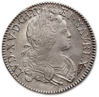 Écu de Navarre. 1718. Amiens. D. 1657. TTB...