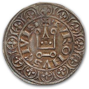 PHILIPPE IV (1285-1314) Gros tournois à l'Orond....