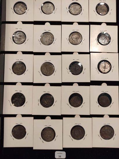 Antoninian: 20 copies. Gallien (3 ex.) C. 754, 1059 and 1309 - Salonine C. 92 -...