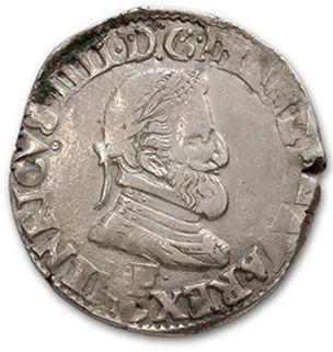 Demi franc: 3 exemplaires. 1594 Rouen, 1600...