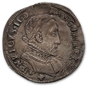 Teston, 2e type: 2 exemplaires. 1555 Toulouse...
