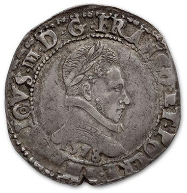 Franc au col plat. 1578. Bayonne. D. 1130....