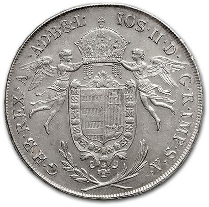 Joseph II Thaler. 1786. Kremmitz. kM. 400-1....