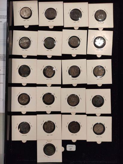 Antoninian: 21 copies. Gallien (3 ex.) C. 562, 586 and 593 - Salonine C. 103 - Salonin...