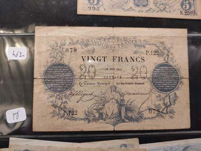 Billet de 20 F du 30.06.1871 (F. 46/A) B...