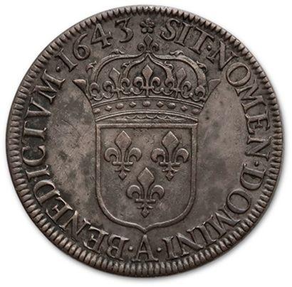 Shield with a short fuse. 1643. Paris. D. 1461. TTB to superb