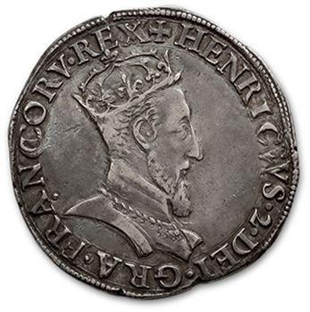 HENRI II (1547-1559) Teston, 1er type. 1549....