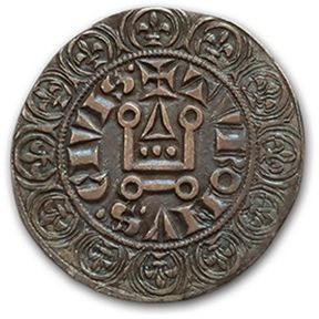 LOUIS IX (1226-1270) Gros tournois. D. 190....