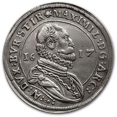 Maximilien, archiduc (1602-1618) Thaler....