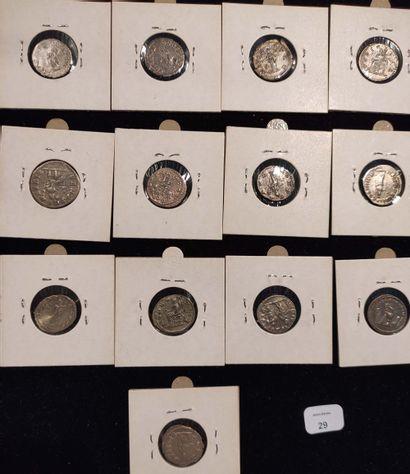 Denarius: 13 copies. Septimius Severus (2 ex.) C. 298 and 791 - Julia Domna (3 ex.)...
