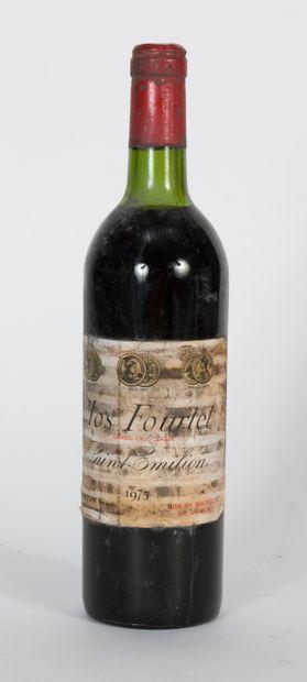 13 bouteilles de Clos Fourtet Saint Emilion...