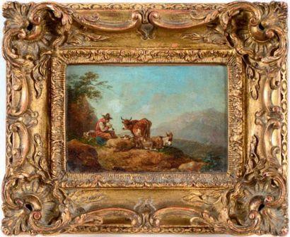 ATTRIBUÉ À FRANCESCO GUISEPPE CASANOVA (LONDRES 1727 - VORDERBRÜHL 1803)