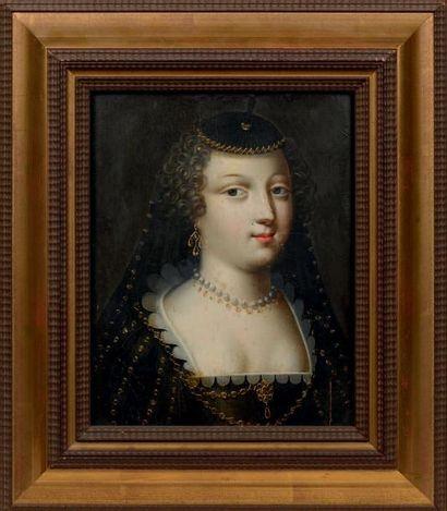 ATTRIBUÉ À CLAUDE DERUET (NANCY 1588 - 1662)