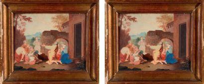 Ecole française dans le goût du XVIIe siècle
