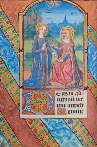 Peintures du maître d'Estienne Poncher  & du maître de Liénart Baronnat