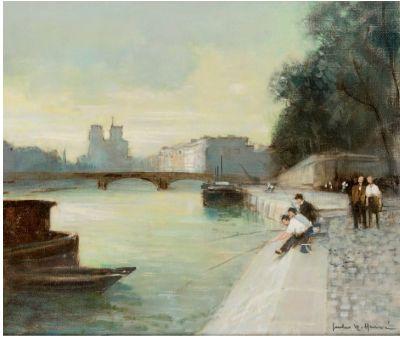 Jules René HERVE (1887-1981)  Notre Dame...