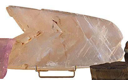 Cristal de gypse de Caresse