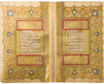 Coran Copié par Mustafa al-Uskudari en 1682...