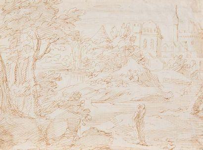 Attribué à Adriaen van DER CABEL (1631-1705)