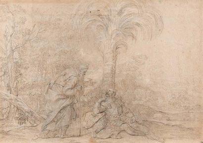 Attribué à Giovanni Gioseffo Dal SOLE (1654-1719)