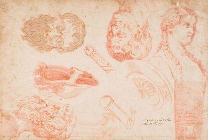 Attribué à Alessio de MARCHIS (1684-1756)