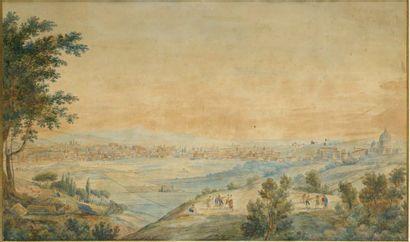 Attribué à Adrian Ludwig Richter (1803-1884)