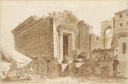 Ecole ITALIENNE, début XIXeme siècle