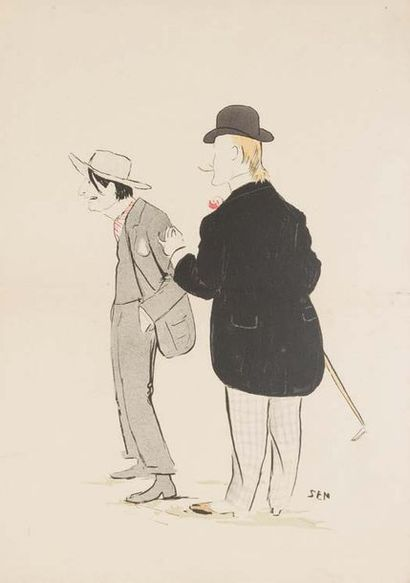 Georges GOURSAT dit SEM (1863 - 1934)