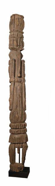 Peuple - ORON EKPU - Nigéria Ancienne sculpture...