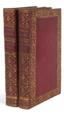 CICERON. Academica.- De Finibus. Cambridge, Typis academicis, Corn. Crownfi eld,...