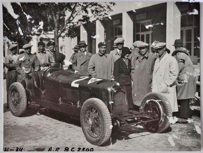Alfa Romeo 8c, 2,3 Monza au circuit du BRNO...