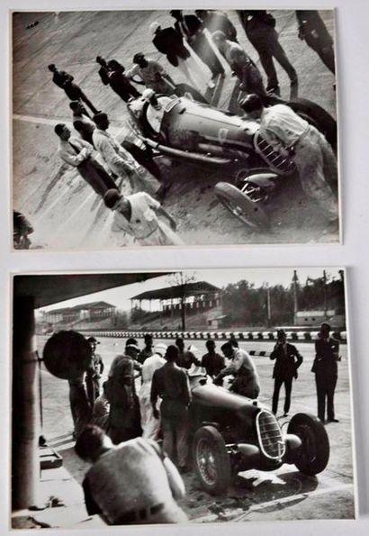 Tazio NUVOLARI (1892-1953) essai en 1936...