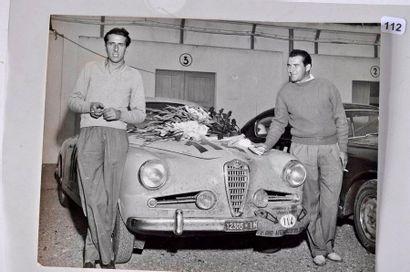 Luigi Taramazzo et Gerini sur Alfa Romeo...