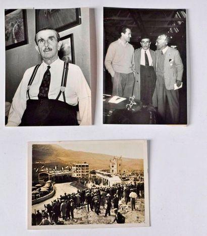 Ensemble de 3 photos VICENZO FLORIO le créateur...