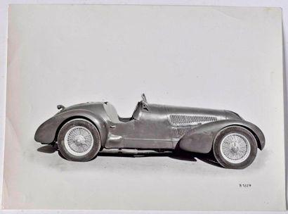 Alfa Romeo typo 308. 17 x 23 cm