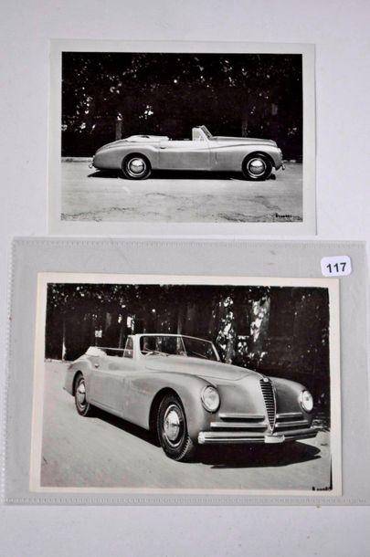 Alfa Romeo 2,5L Sport Pininfarina 1950. Photo...
