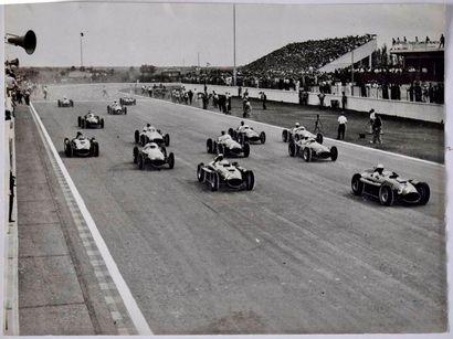 GP d'Argentine, Buenos Aires, janvier 1956,...