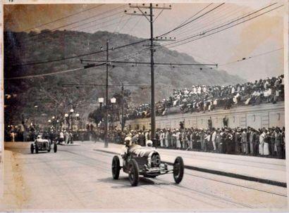 Nino CRESPI (1899-1934) sur Bugatti 37A (N°...