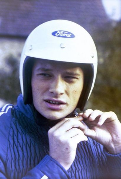 Johnny Hallyday, pilote Ford France avant...
