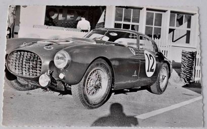 Ferrari 340 MM , 24h du Mans 1953 pilotes...