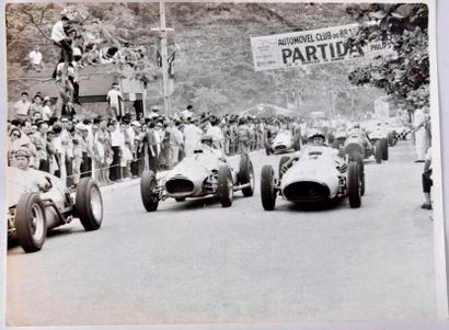 Grand Prix du Sao Paulo 1951(?) le départ....