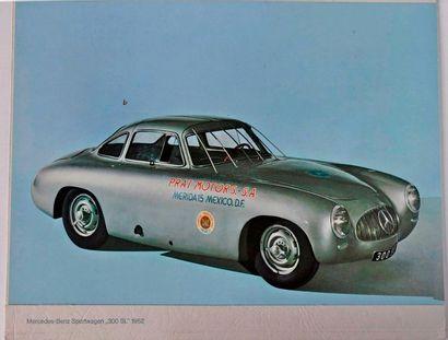 Mercedes 300 SL 1952, La carrera Mexico....