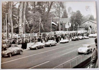 PAU 1958, Course tourisme et GT, Alfa Romeo...