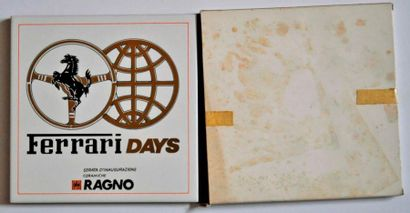 Ferrari Days, Plaque en céramique, 20x20...