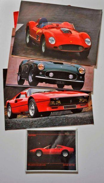 Photo Ferrari 308 GTS + 1 Portfolio avec...